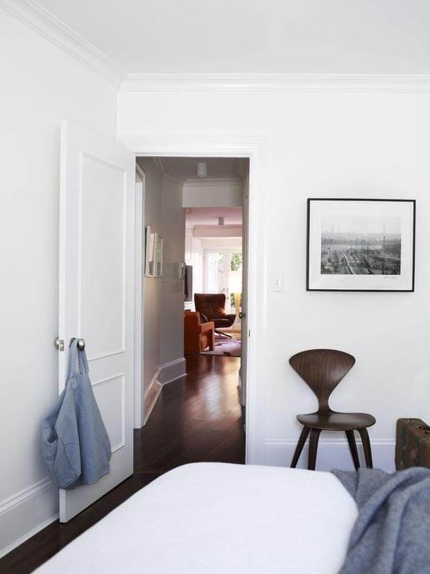 Casa com décor simples e sofisticado em Manhattan (Foto: Anson Smart/Divulgação)