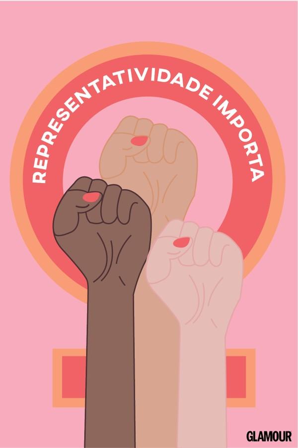 Representatividade importa (Foto:  Arte: Iago Francisco e Victoria Polak)