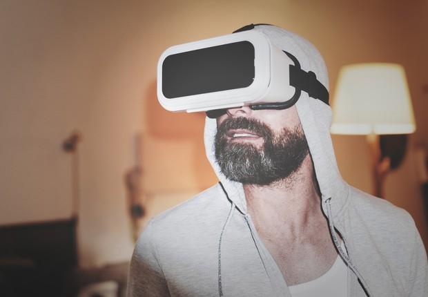 Imagem ilustrativa de óculos de realidade virtual (Foto: Pexels)