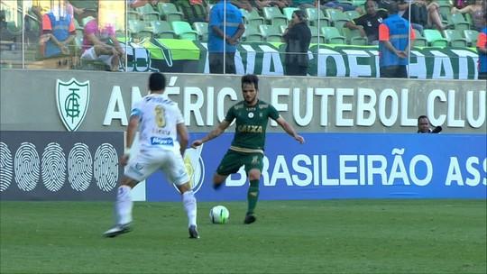 América-MG 2 x 1 Santos: assista aos melhores momentos