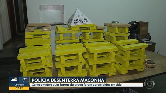 Polícia faz nova apreensão de grande quantidade de droga em Pedro Leopoldo