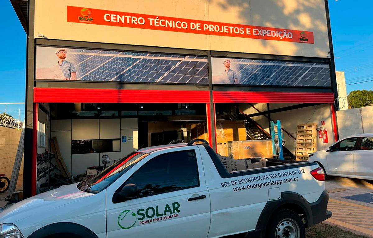 Prudente ganha Centro de Projetos e Expedição de Energia Solar