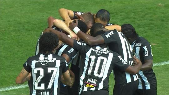 Atlético-MG tem evolução contra líder, mas mantém jejum e agora seca Santos para continuar no G-6