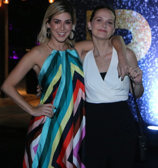 Fernanda Paes Leme e Fernanda Rodrigues (Foto: Daniel Pinheiro/AgNews)