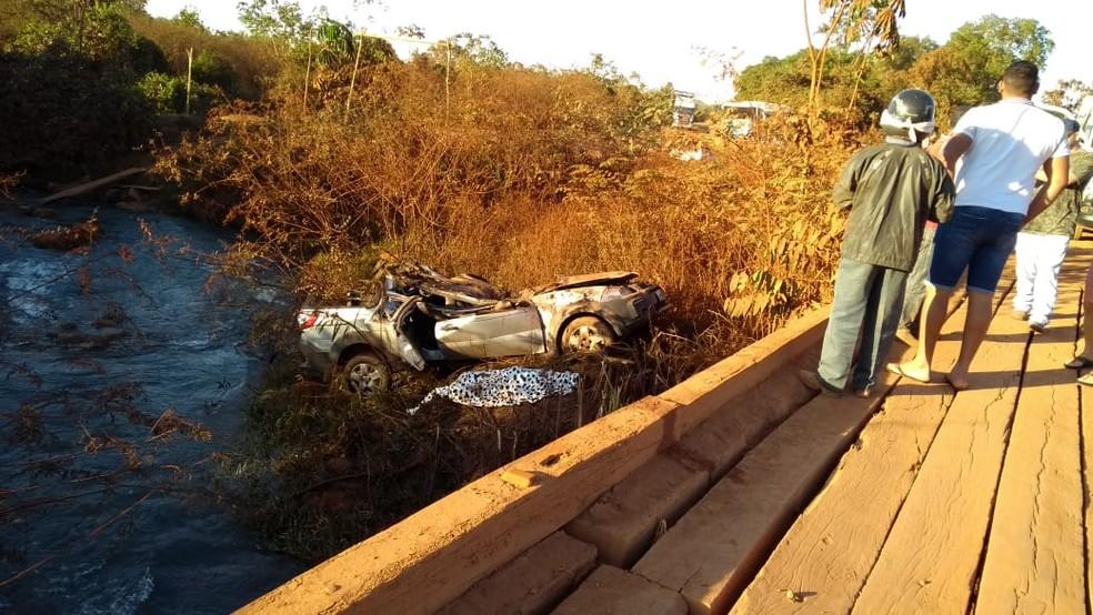 Duas pessoas morreram em acidente na região da Terra Indígena de Marãiwatsédé, em Alto Boa Vista (Foto: Divulgação)