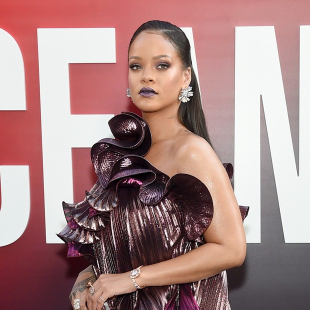 "NEW YORK, NY - JUNE 05:  Rihanna attends ""Ocean's 8"" World Premiere at Alice Tully Hall on June 5, 2018 in New York City.  (Photo by Jamie McCarthy/Getty Images) (Foto: Getty Images)"