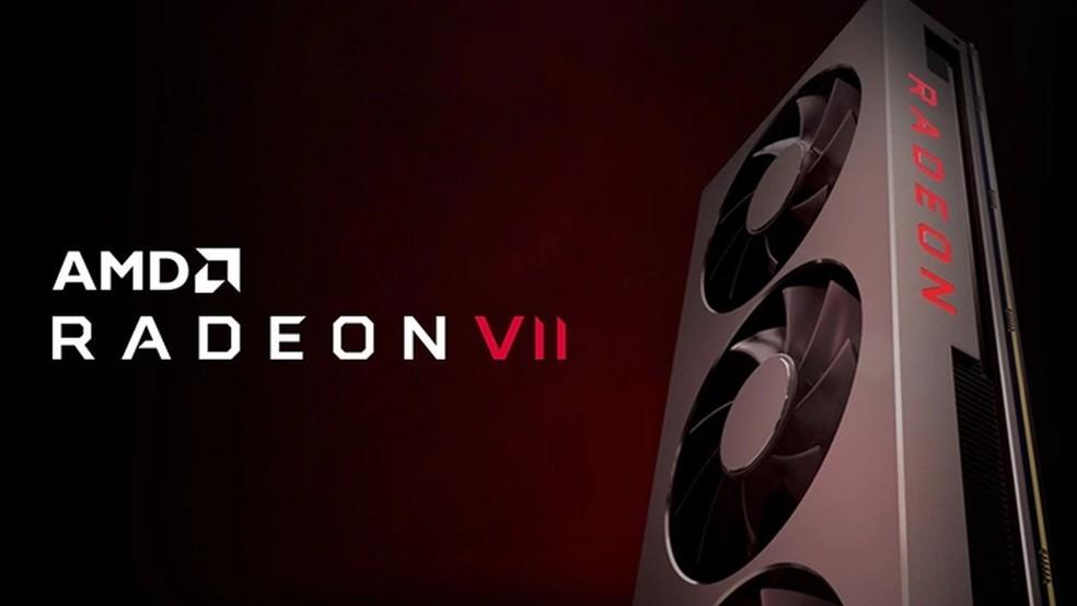 Radeon VII chegou para brigar no segmento de placas para entusiastas — Foto: Divulgação/ AMD