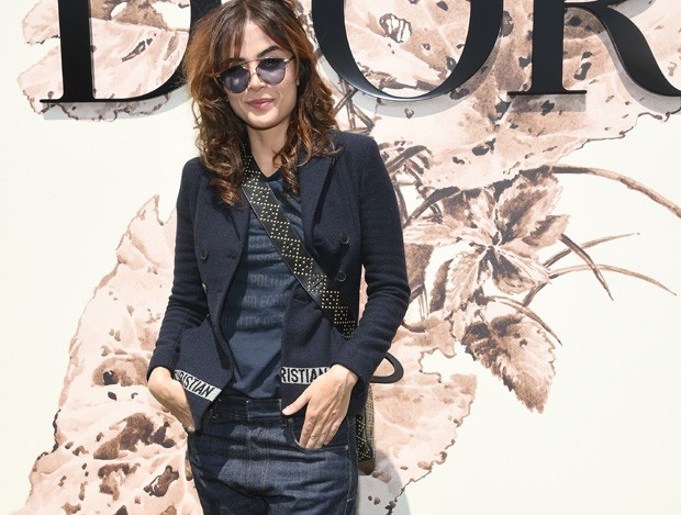 Maria Casadevall no desfile da Dior (Foto: Getty Images)