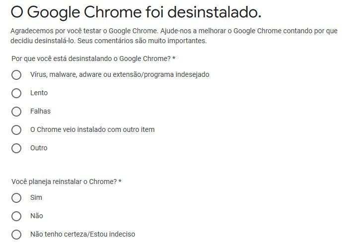 Como Desinstalar O Google Chrome Completamente Do Computador Dicas E Tutoriais Techtudo