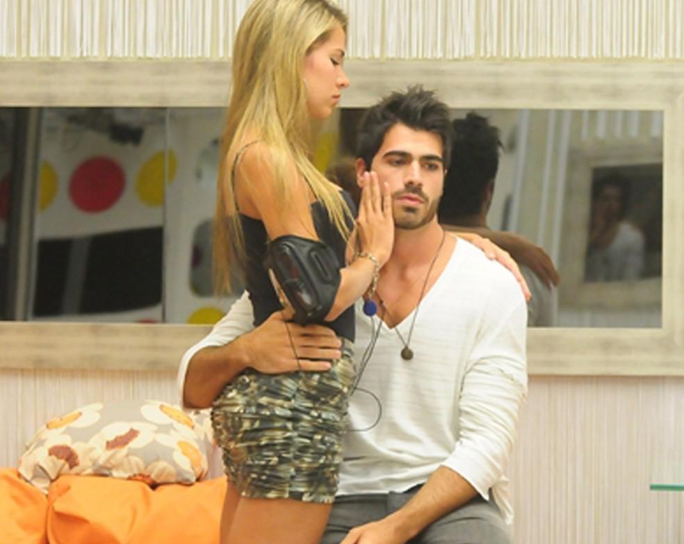 Adriana e Rodrigão no BBB11 (Foto: Frederico Rozário/Globo)