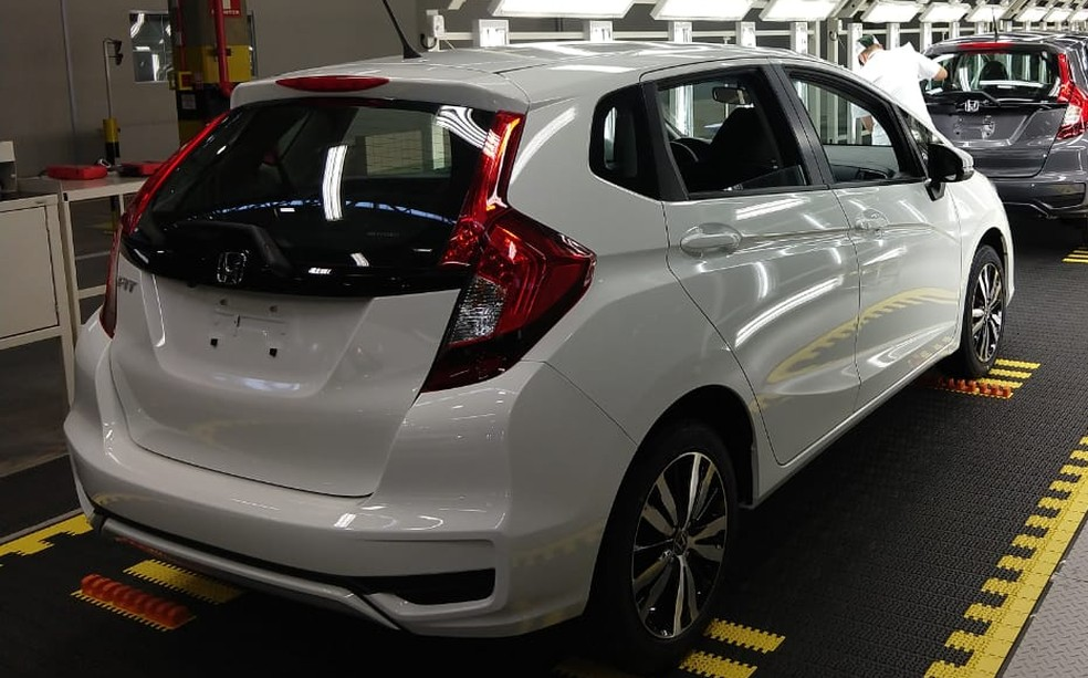 Honda Fit in the third generation - Photo: Gabrielle Chagas / G1