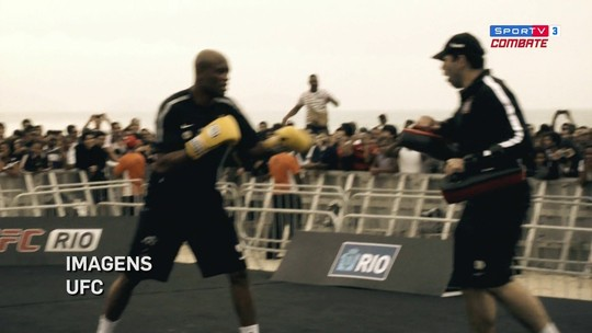 Sensei relembra o UFC 134, evento mais marcante do Ultimate no Brasil
