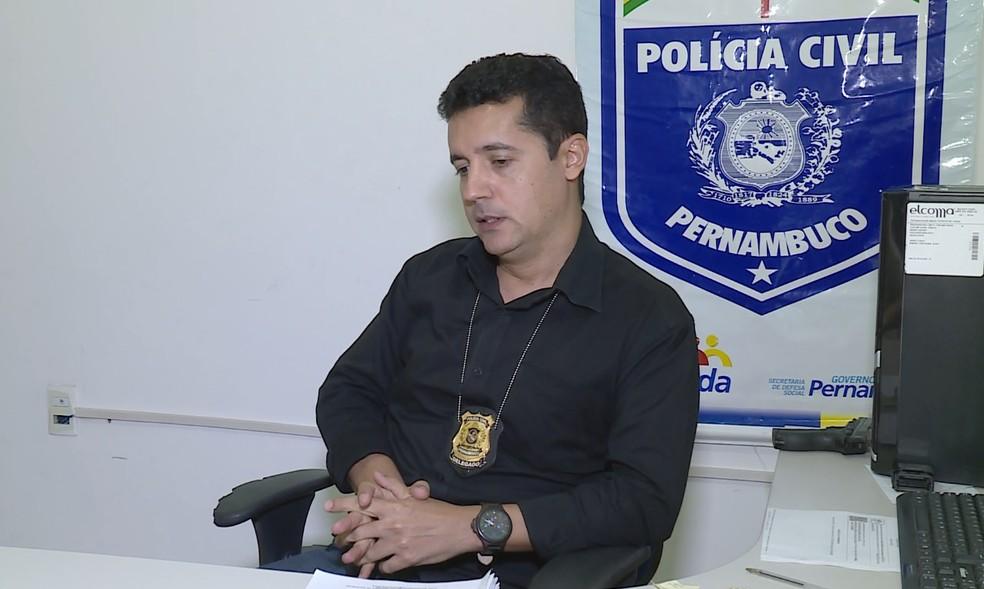 Delegado diz que relatos feitos pela vítima impressionam — Foto: Reprodução / TV Grande Rio