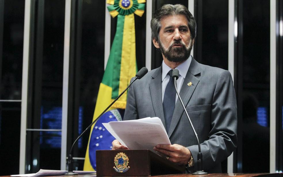 O ex-senador Valdir Raupp (MDB-RO) também se tornou réu em processo da Lava Jato — Foto: Beto Barata/Agência Senado