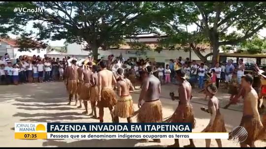 Grupo invade fazenda do ex-ministro Geddel Vieira Lima em Itapetinga, na região sudoeste