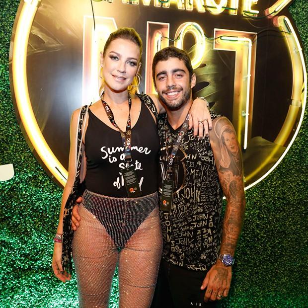 Luana Piovanni com Pedro Scooby (Foto: Felipe Panfili/ Divulgação)