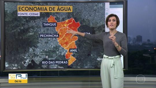 Pode faltar água em Jacarepaguá
