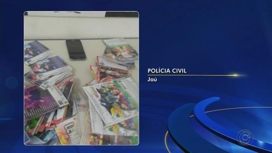 Operação apreende celulares furtados em lojas na região de Jaú