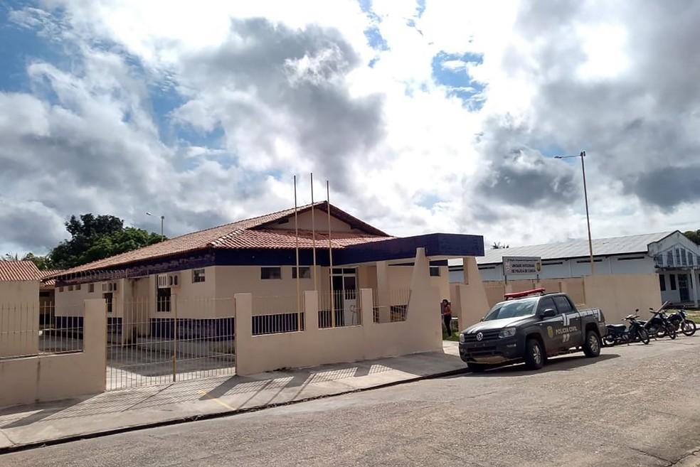 UIPP de Curuá foi inaugurada nesta quinta-feira (30) pelo governador do Pará — Foto: Ascom Polícia Civil/Divulgação