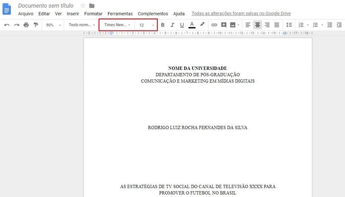 Como Fazer Formatação Abnt No Google Docs Produtividade