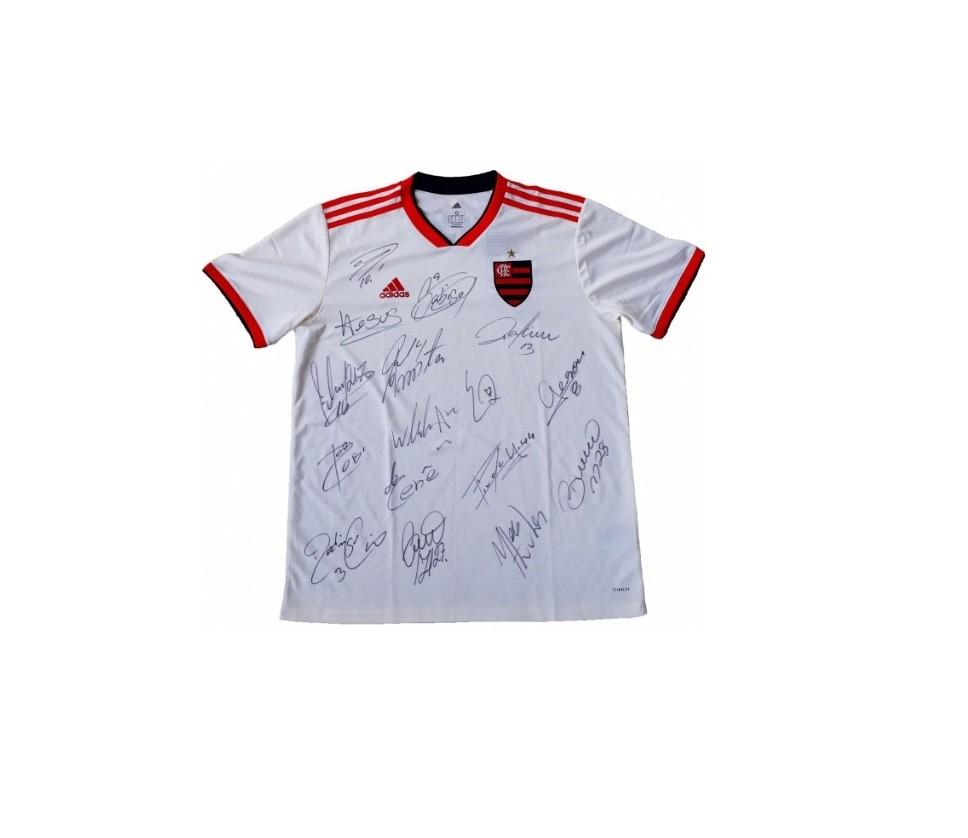 A camisa do Flamengo que será leiloada