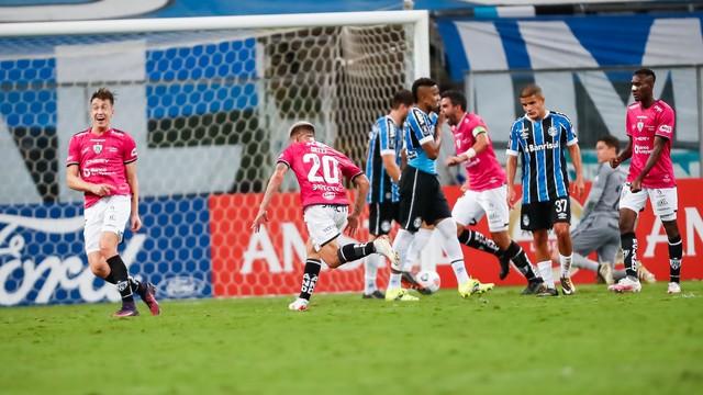 Christian Ortíz, Grêmio x Independiente del Valle
