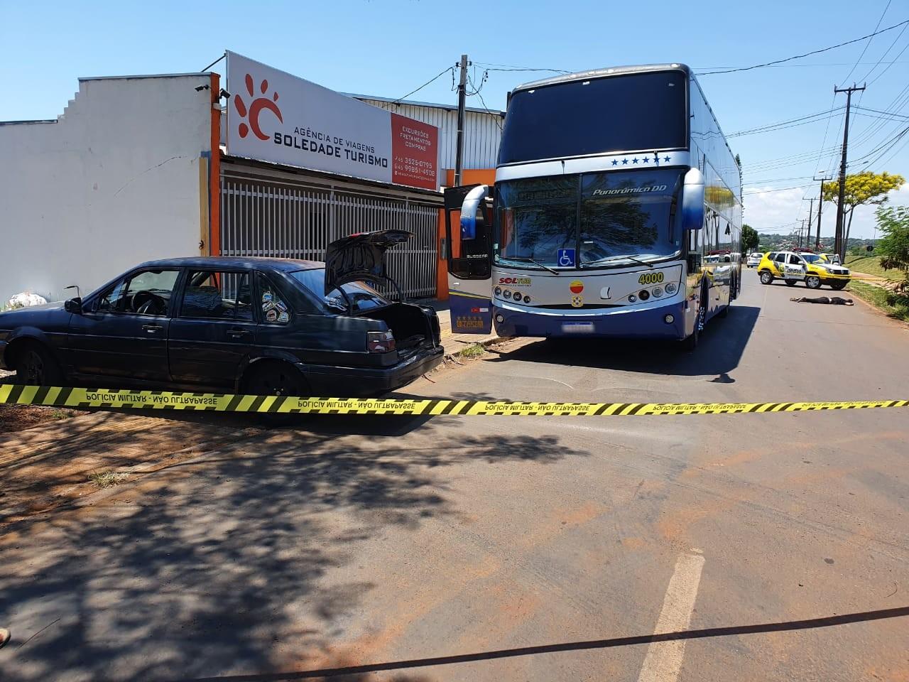 Suspeitos trocam tiros com policiais após tentativa de assalto a agência de viagens em Foz do Iguaçu, diz PM