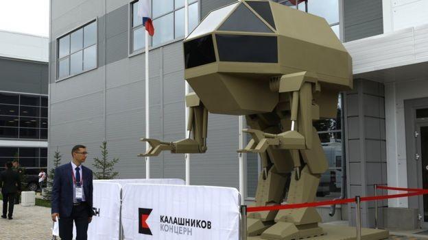 BBC: O robô Igoryok jamais foi visto fazendo qualquer coisa (Foto: MIKHAIL TERESHCHENKO / GETTY IMAGES VIA BBC)