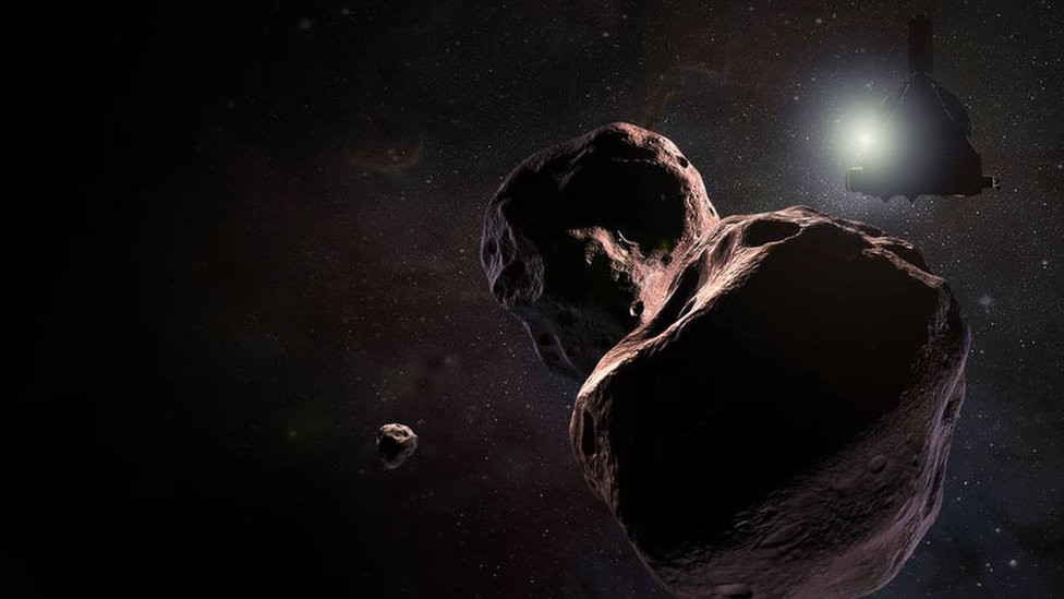 Corpo celeste Ultima Thule, o mais distante já explorado (Foto: NASA)