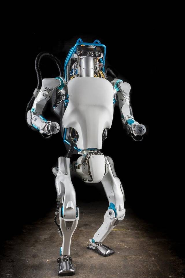 Robô Atlas (Foto: Boston Dynamics/Wikipedia Commons)