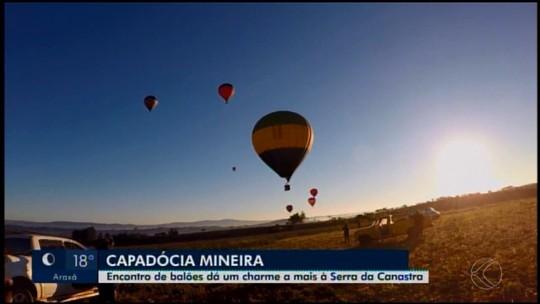 Encontro de balões é realizado em São Roque de Minas