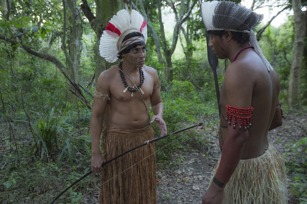 Cauré revela plano de matar Joaquim (Foto: Ellen Soares/ Gshow)