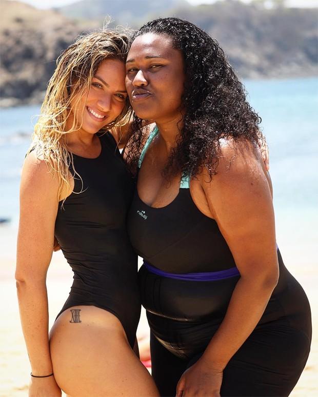 Giovanna Ewbank e Luana Xavier (Foto: Reprodução/Instagram)