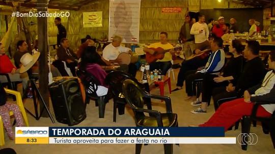 Rio Araguaia encanta desde turistas de primeira viagem a famílias que vão há décadas