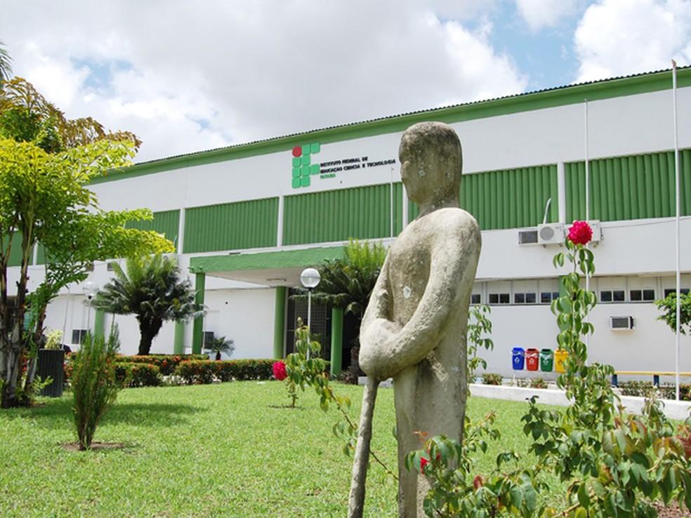 Instituto Federal de Educação, Ciência e Tecnologia da Paraíba (IFPB), em João Pessoa — Foto: Divulgação/IFPB