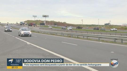 Concessionária bloqueia 3 km da Rodovia D.Pedro, em Campinas, nesta quinta-feira; veja desvios