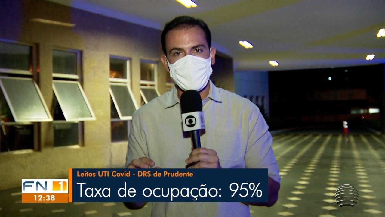 Número de hospitalizações com Covid-19 bate recorde em Presidente Prudente