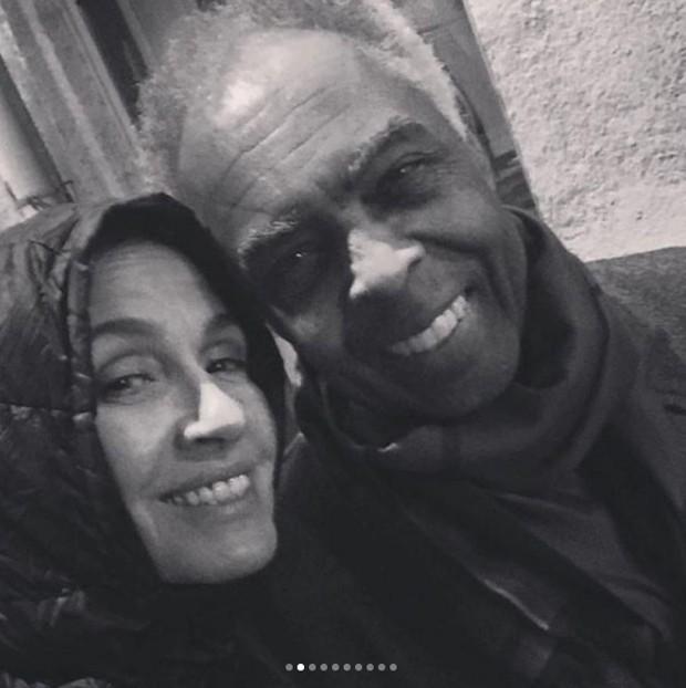 Gilberto e Flora Gil (Foto: Reprodução / Instagram)