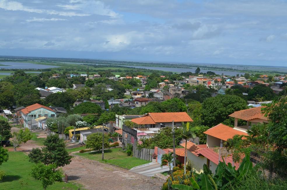 Cidade de Monte Alegre, no Pará — Foto: Sílvia Vieira/G1