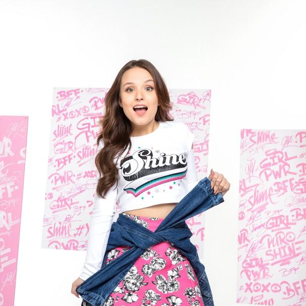 Larissa Manoela lança coleção para a Riachuelo (Foto: Divulgação)