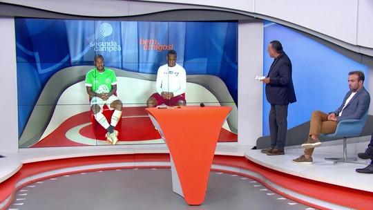 Digão de Victor Andrade comentam partida entre Chapecoense e Fluminense
