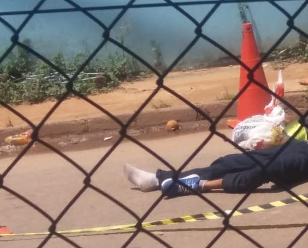 Em tentativa de assalto, suspeito morre após ser atingido por tiro no Acre — Foto: Divulgação/PM-AC