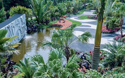 Retrospectiva de Burle Marx leva a obra do paisagista brasileiro para dentro do Jardim Botânico de NY