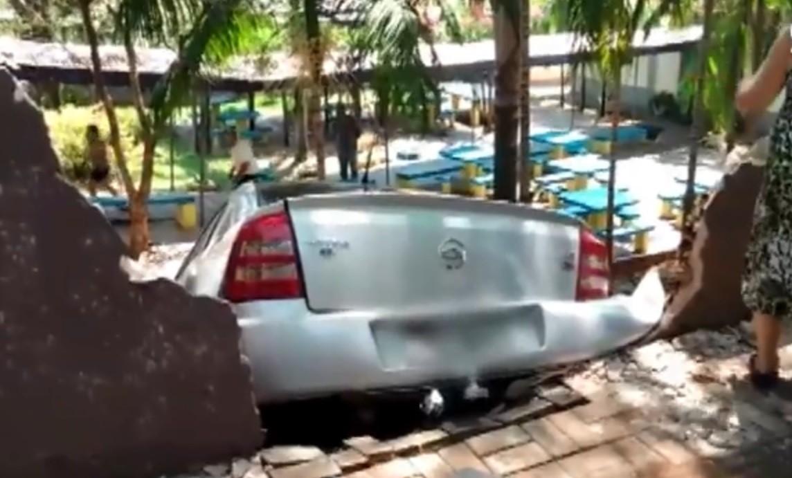 Delegado afirma que motorista que atropelou adolescente em escola de Marialva foi imprudente