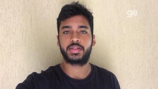 """""""Mais motivação para trabalhar"""", diz Matheus Lima sobre recepção da torcida do Sampaio"""