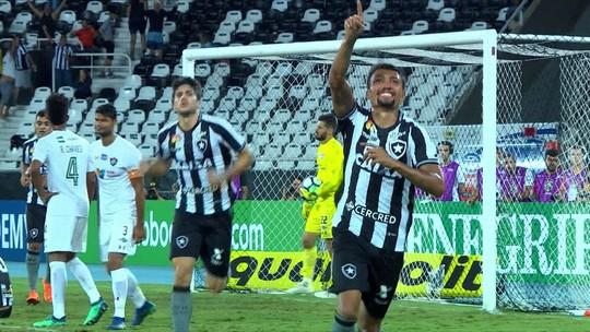 Os gols de Botafogo 2 x 1 Fluminense pela 5ª rodada do Campeonato Brasileiro