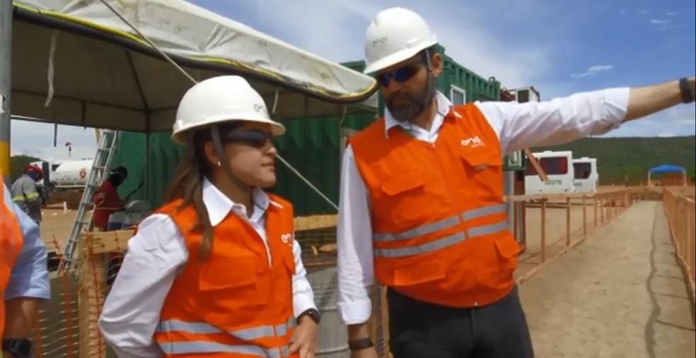 Engenheira Sabrina Costa, gerente de projetos do parque eólico Lagoas dos Ventos, no Piauí — Foto: Divulgação/ Enel