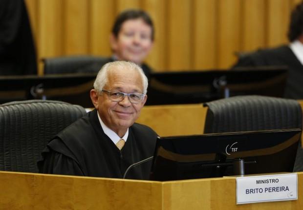 João Batista Brito Pereira, novo presidente do Tribunal Superior do Trabalho  (Foto: Igo Estrela/TST)