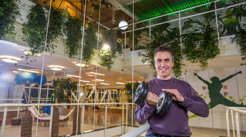 Toni Gandra abriu uma academia sustentável chamada EcoFit (Foto: Reprodução/Agência Sebrae-SP)
