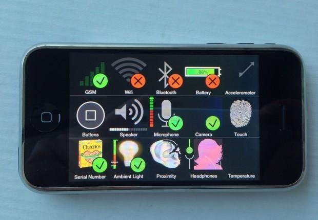 Protótipo do iPhone (Foto: Reprodução/ eBay)